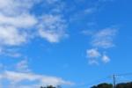 青空の綺麗な町。私市からの空~交野まちなみ日記No.6~