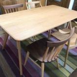 『高松市に日進木工・ダイニングセット・SOFテーブルにCHORUSチェアとSC4Kをセットして納品』の画像