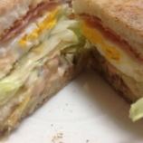 『【OYAJI飯】マック店長だった僕のアレンジ料理「エッグマフィン・オーロラ風」』の画像