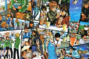 四大スポーツ漫画「アイシールド21」「RIGHT WING」「ホイッスル」「スラムダンク」