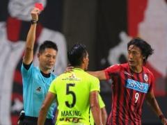 札幌戦で一発退場の浦和DF槙野智章に1試合の出場停止処分!大宮戦欠場