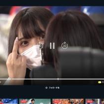 【画像】Jリーグの中継で美女がカメラにすごいポーズw