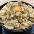 【デカ盛り】伝説のすた丼 肉飯増しトリプル