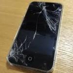 iPhoneって画面割れたまま使ってる人が多いよね