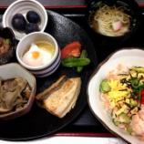 『今日の太田下町昼食(鮭のちらし寿司)』の画像