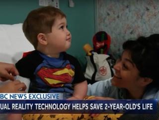 最新のVR技術が2歳の男の子の命を救う?!医療におけるVRの活用