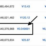 『30分に一回無料でビットコインがもらえる「Tadacoin」は思いのほか高額報酬。今のうちに稼いでおこう。』の画像