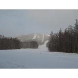 『今朝はふわっふわの新雪。穏やかな朝です。』の画像