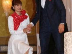 まるで夫婦漫才www長友佑都&平愛梨、来年1・29結婚!子ども「11人」希望に「いいんかい!」