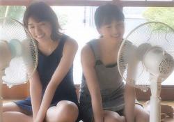 【新鮮】珍しいw 西野七瀬×大園桃子のツーショット画像がコレwww