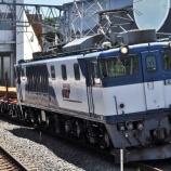 『JR貨物によるレール輸送』の画像