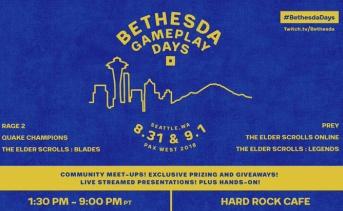 『Bethesda Gameplay Days』ベセスダの最新作が体験できる公式イベント