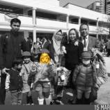 『大好きなインドネシア・ファミリーが帰国』の画像