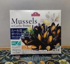イオンで大盛りのムール貝がたったの430円!味付けプラスで激うま【トップバリュ】