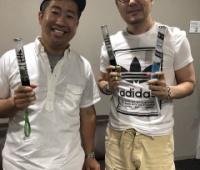 【欅坂46】けやかけMC二人そろって「夏の全国アリーナツアー」に来てくれていた模様!しかもてちがあげたペンライト使ってくれてる!