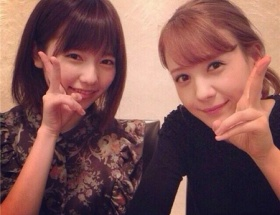 【画像】島崎遥香とトリンドルの2ショットwww
