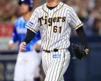 【阪神】望月、5回無失点でプロ初勝利の権利!4回満塁ピンチで大和三振斬り!