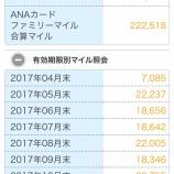 『ANA 2014年マイル積算実績公開』の画像