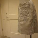 『DUAL VIEW(デュアルヴュー)スパンコール&コード刺繍スカート』の画像