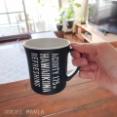 【セリア】カフェ風デザインの割れないマグカップ
