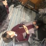 『齋藤冬優花のブログにまたまた床で寝ている鈴本美愉が登場!』の画像