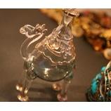 『エジプト雑貨セール:ヒップスカーフ、ガラベーヤ、ガラス香水瓶(ラクダ)』の画像