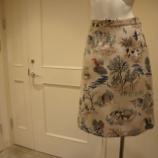 『KEITA MARUYAMA(ケイタマルヤマ)ハンティングゴブランスカート』の画像