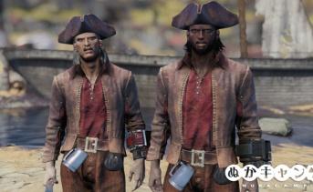 海賊帽と海賊帽と海賊帽