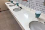 イズミヤの1階女子トイレの手洗い場で『昔懐かしのアレ』発見!~都会の皆さまに、ほっこりを~