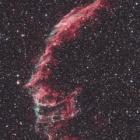 『はくちょう座の網状星雲(NGC6992-6995)西側』の画像