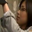 【OL】黒縁メガネの淫乱OLがねっとりフェラからのセクロス!!【めがね】