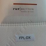 『【豊富な品揃え全部見せます!2011】ドイツのRUF社のマットレス・FPL-DX・SD』の画像