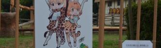 【けものフレンズ】みさき公園コラボ終了後も「キリンのみさき」イラストパネルの展示が継続 ワクワク電車らんどではスマトラトラヘッドマークが展示中