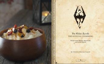 『The Elder Scrolls』公式料理本が予約開始