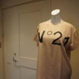 『N°21(ヌメロ ヴェントゥーノ)異素材ミックスロゴカットソー』の画像