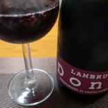 『イタリア産赤泡ワイン~ランブルスコ グラスパロッサ ディ カステルヴェトロ セッコ 360° NV ドネリ』の画像