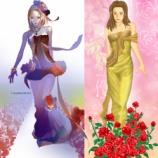 『ドレスの絵の模倣_(パクリ?)』の画像
