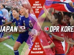 【動画】東アジア杯初戦!なでしこ×北朝鮮、試合終了!DF陣が崩され後半に3失点!2-4で敗れる!