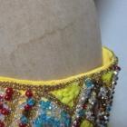 『ベリーダンス衣装 腰から浮いてしまうベルトもぴったり添わせられます』の画像