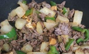 ひき肉と梨を使った自作レシピ