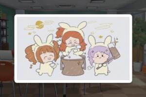 【ミリシタ】ホワイトボードが「お月見」仕様に!