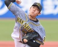 【阪神】ドラ6小川一平が1回無安打無失点の上々デビュー!最速は147キロ!