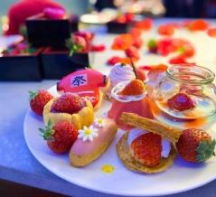 【京都】楽しいいちごブッフェがファイナルに。゚(。pдq。)゚。 ~オールデイダイニング カザ