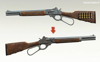 レバーアクションライフルを右側装填にするMOD v1.1