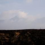 『野焼き・八ヶ岳』の画像