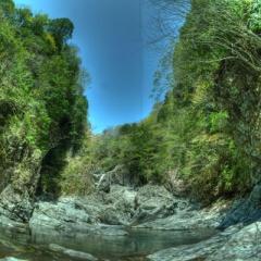 御手洗渓谷で滝三昧