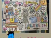 【日向坂46】丸山桂里奈さんが松田好花に贈ったイラストが凄すぎる・・・