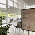 秋葉区蒲ケ沢にある『新津美術館』内に『COFFEE&BREAK(コーヒーアンドブレイク)』なるカフェがオープンしてる。
