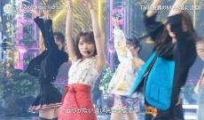 【FNS歌謡祭】早川聖来、完璧なプロポーションで一際目立ってしまう!!!!