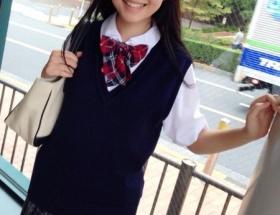 はるかぜちゃん(13歳・中2)の制服姿wwwww